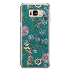 Telefoonhoesje Store Samsung Galaxy S8 siliconen hoesje - Bloomy birds