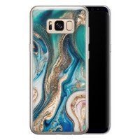 Telefoonhoesje Store Samsung Galaxy S8 siliconen hoesje - Magic marble