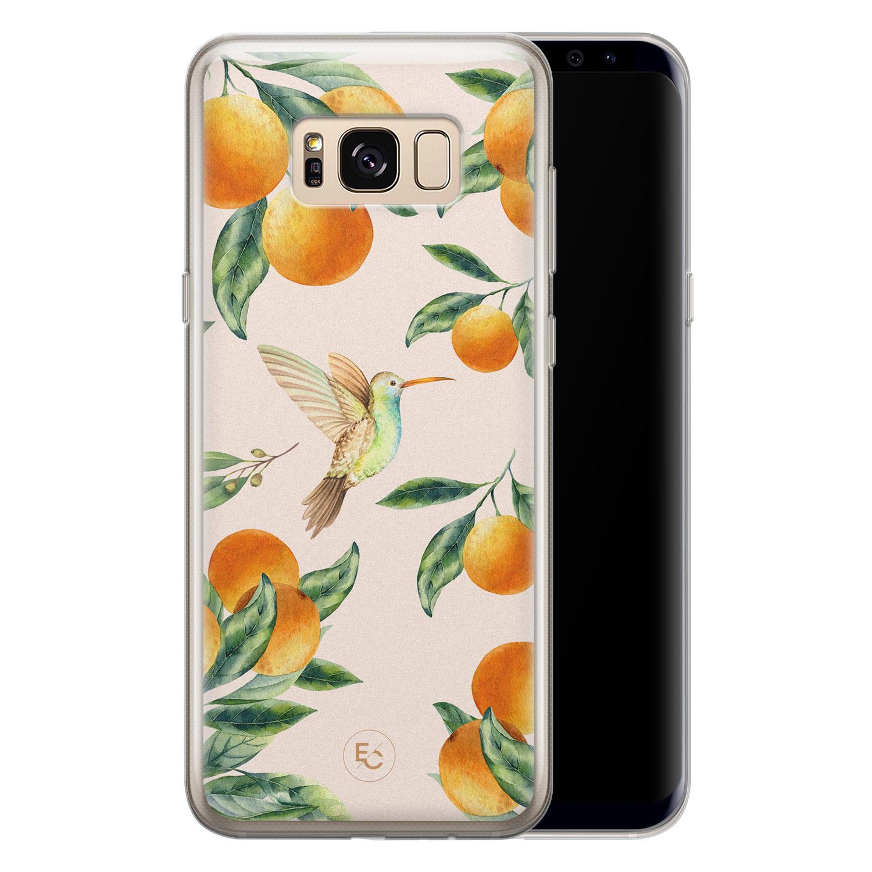 ELLECHIQ Samsung Galaxy S8 siliconen hoesje - Tropical Lemonade