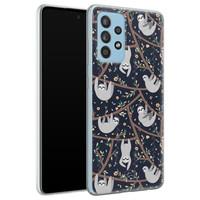 Telefoonhoesje Store Samsung Galaxy A52 siliconen hoesje - Luiaard