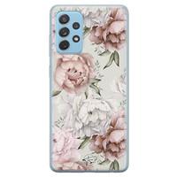 Telefoonhoesje Store Samsung Galaxy A52 siliconen hoesje - Classy flowers