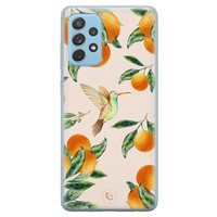 ELLECHIQ Samsung Galaxy A52 siliconen hoesje - Tropical Lemonade