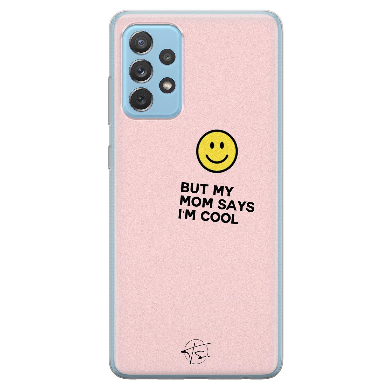 Telefoonhoesje Store Samsung Galaxy A52 siliconen hoesje - I'm cool