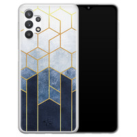 Telefoonhoesje Store Samsung Galaxy A32 5G siliconen hoesje - Geometrisch fade art