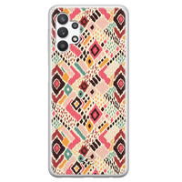 Telefoonhoesje Store Samsung Galaxy A32 5G siliconen hoesje - Boho vibes