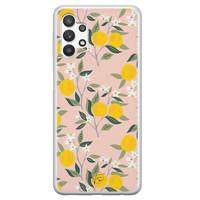 Telefoonhoesje Store Samsung Galaxy A32 5G siliconen hoesje - Citroenen