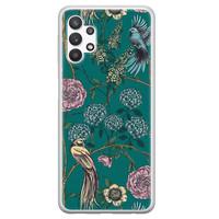 Telefoonhoesje Store Samsung Galaxy A32 5G siliconen hoesje - Bloomy birds