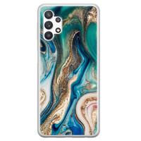 Telefoonhoesje Store Samsung Galaxy A32 5G siliconen hoesje - Magic marble