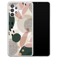 Leuke Telefoonhoesjes Samsung Galaxy A32 5G siliconen hoesje - Abstract print