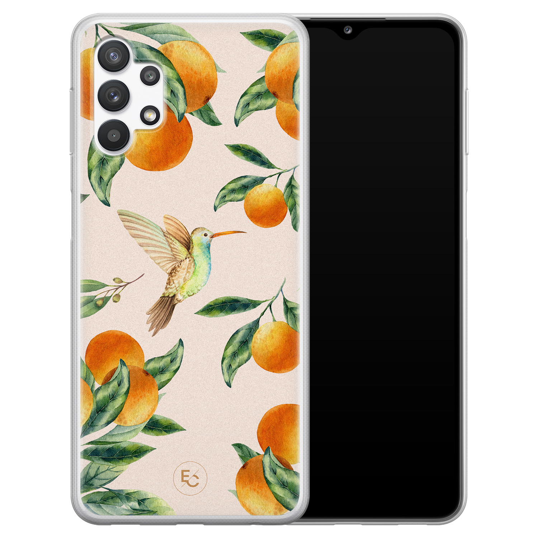 ELLECHIQ Samsung Galaxy A32 5G siliconen hoesje - Tropical Lemonade