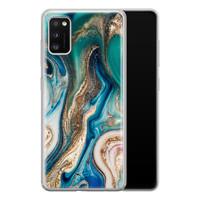 Telefoonhoesje Store Samsung Galaxy A41 siliconen hoesje - Magic marble