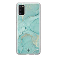 Casimoda Samsung Galaxy A41 siliconen hoesje - Touch of mint
