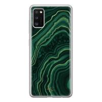 Telefoonhoesje Store Samsung Galaxy A41 siliconen hoesje - Agate groen