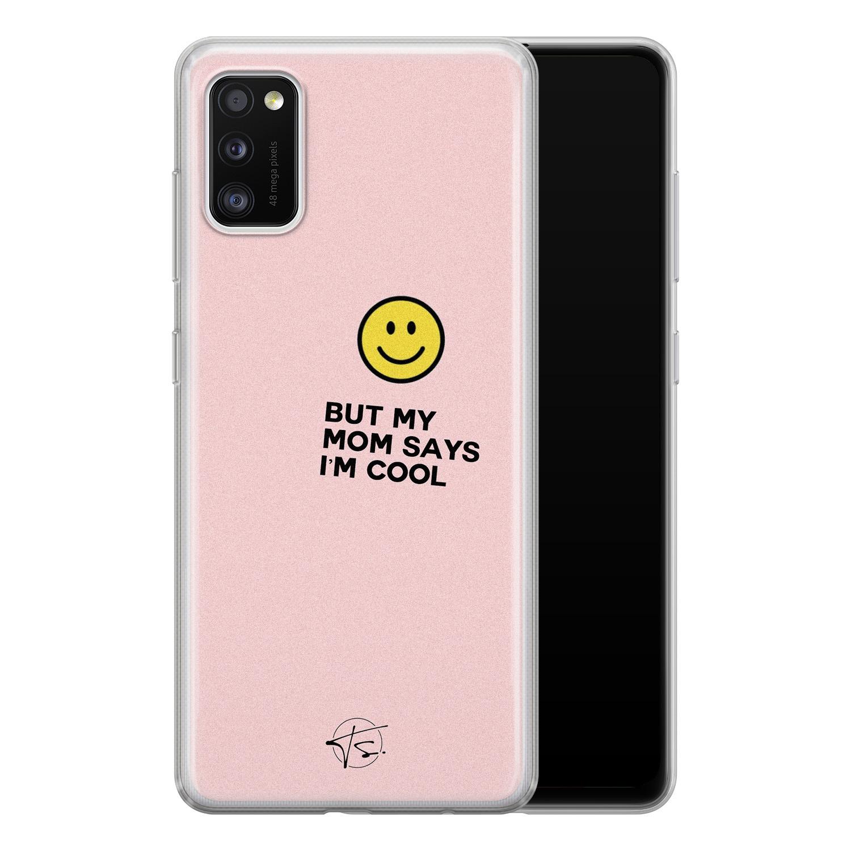 Telefoonhoesje Store Samsung Galaxy A41 siliconen hoesje - I'm cool