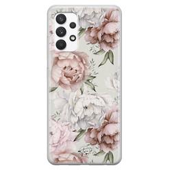 Telefoonhoesje Store Samsung Galaxy A32 4G siliconen hoesje - Classy flowers