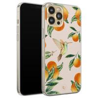 ELLECHIQ iPhone 12 siliconen hoesje - Tropical Lemonade