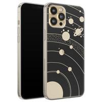 Telefoonhoesje Store iPhone 12 siliconen hoesje - Universe space