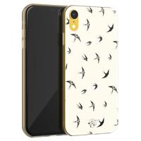 Telefoonhoesje Store iPhone XR siliconen hoesje - Freedom birds