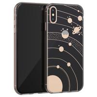 Telefoonhoesje Store iPhone X/XS siliconen hoesje - Universe space