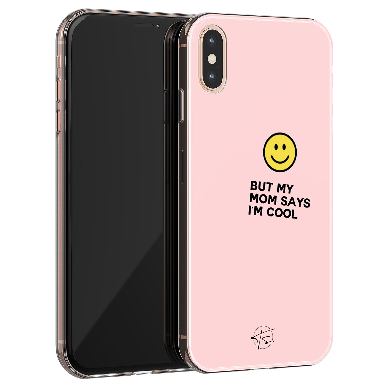 Telefoonhoesje Store iPhone X/XS siliconen hoesje - I'm cool
