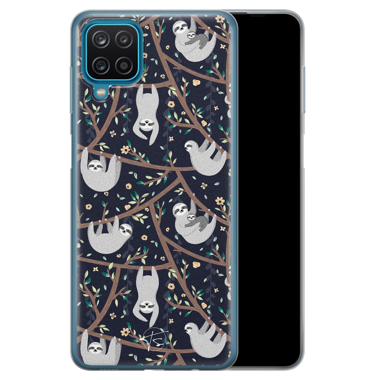 Telefoonhoesje Store Samsung Galaxy A12 siliconen hoesje - Luiaard