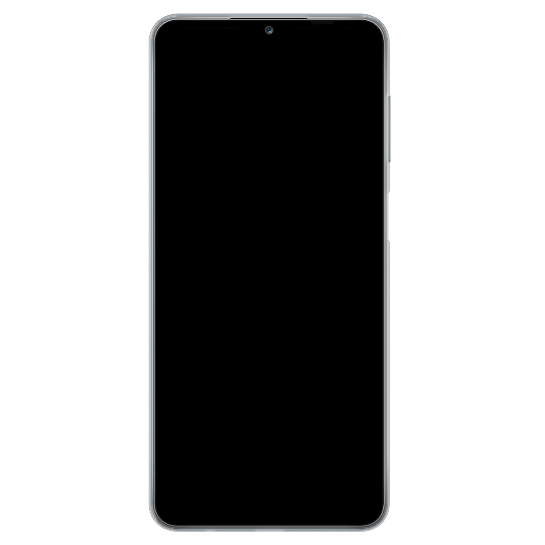 Telefoonhoesje Store Samsung Galaxy A12 siliconen hoesje - Flamingo