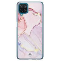 Casimoda Samsung Galaxy A12 siliconen hoesje - Purple sky