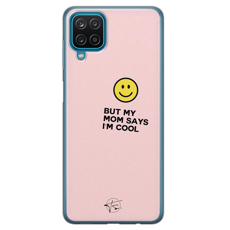Telefoonhoesje Store Samsung Galaxy A12 siliconen hoesje - I'm cool