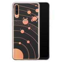 Telefoonhoesje Store Samsung Galaxy A70 siliconen hoesje - Universe space