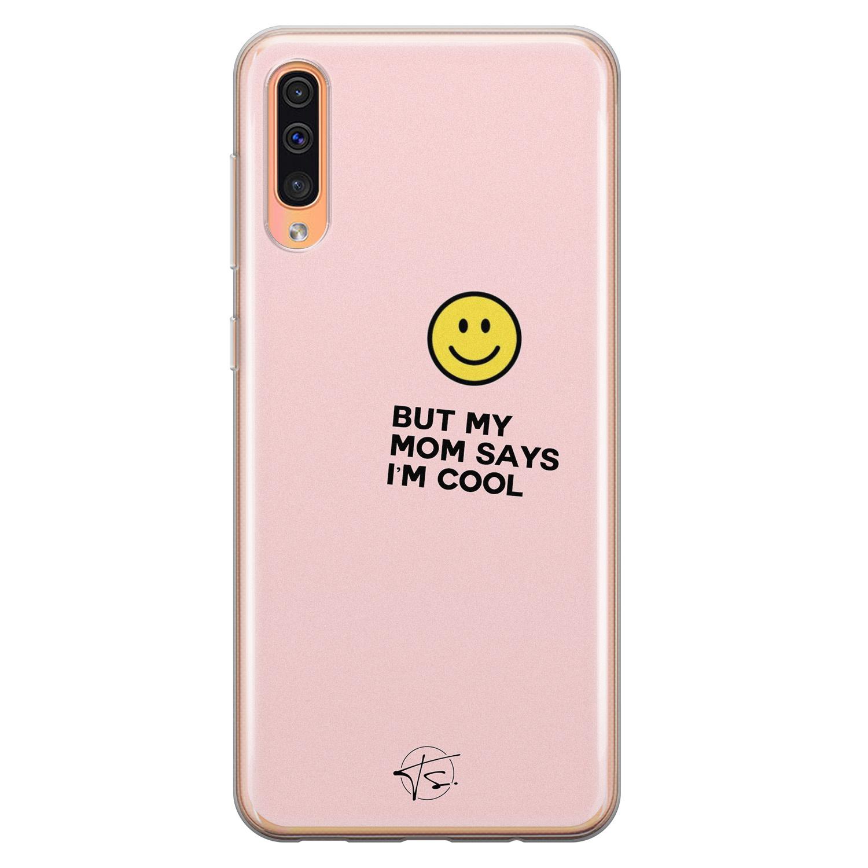 Telefoonhoesje Store Samsung Galaxy A70 siliconen hoesje - I'm cool