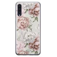Telefoonhoesje Store Samsung Galaxy A50 siliconen hoesje - Classy flowers