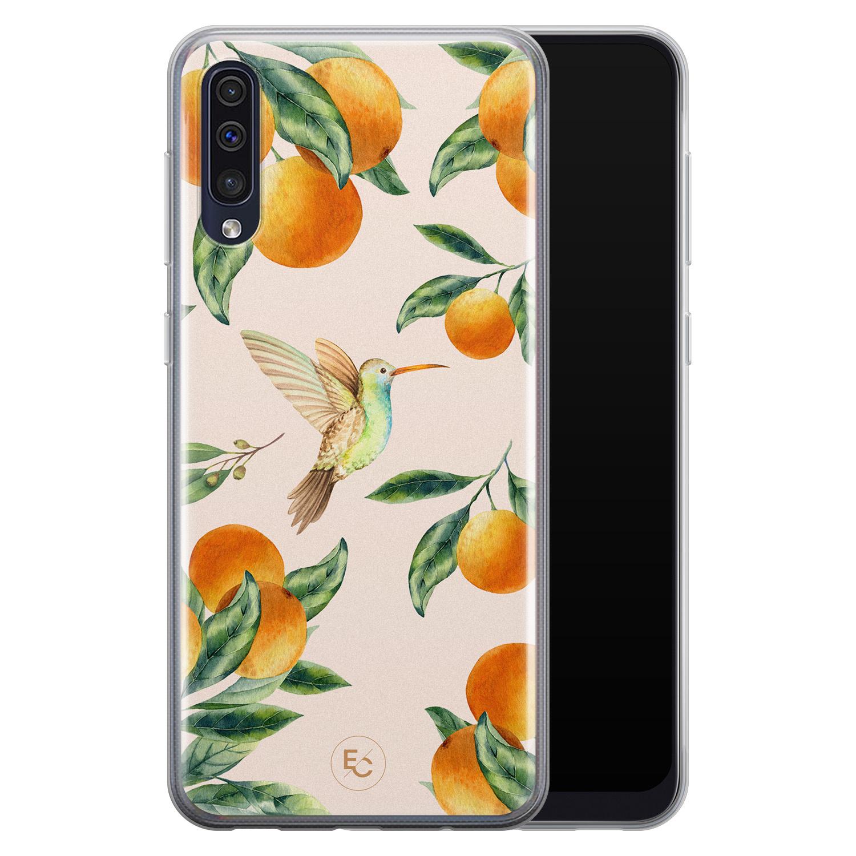ELLECHIQ Samsung Galaxy A50 siliconen hoesje - Tropical Lemonade