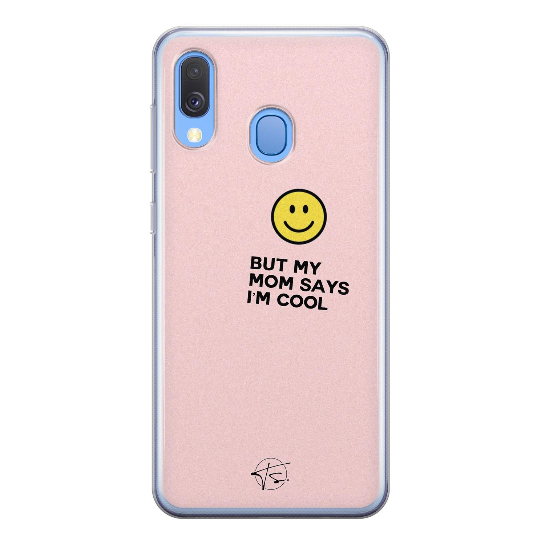 Telefoonhoesje Store Samsung Galaxy A40 siliconen hoesje - I'm cool