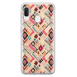 Telefoonhoesje Store Samsung Galaxy A20e siliconen hoesje - Boho vibes