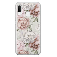 Telefoonhoesje Store Samsung Galaxy A20e siliconen hoesje - Classy flowers