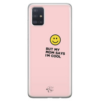 Telefoonhoesje Store Samsung Galaxy A71 siliconen hoesje - I'm cool