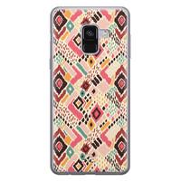 Telefoonhoesje Store Samsung Galaxy A8 2018 siliconen hoesje - Boho vibes