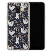 Telefoonhoesje Store Samsung Galaxy A6 2018 siliconen hoesje - Luiaard