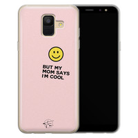 Telefoonhoesje Store Samsung Galaxy A6 2018 siliconen hoesje - I'm cool