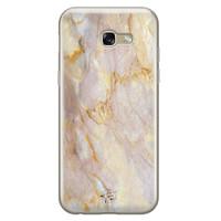 ELLECHIQ Samsung Galaxy A5 2017 siliconen hoesje - Stay Golden Marble