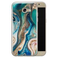 Telefoonhoesje Store Samsung Galaxy A5 2017 siliconen hoesje - Magic marble
