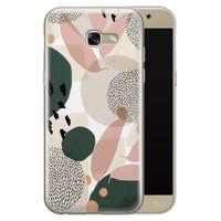 Leuke Telefoonhoesjes Samsung Galaxy A5 2017 siliconen hoesje - Abstract print