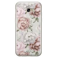Telefoonhoesje Store Samsung Galaxy A5 2017 siliconen hoesje - Classy flowers