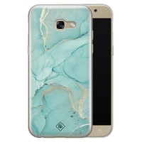 Casimoda Samsung Galaxy A5 2017 siliconen hoesje - Touch of mint