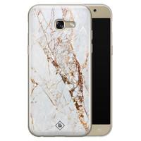 Casimoda Samsung Galaxy A5 2017 siliconen hoesje - Marmer goud