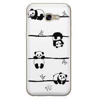 Telefoonhoesje Store Samsung Galaxy A5 2017 siliconen hoesje - Panda