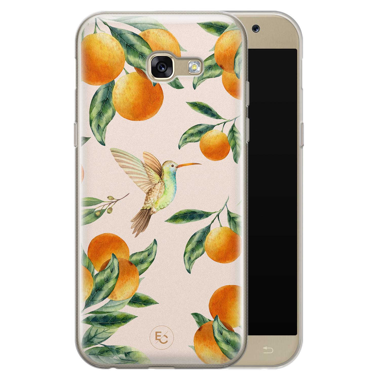 ELLECHIQ Samsung Galaxy A5 2017 siliconen hoesje - Tropical Lemonade