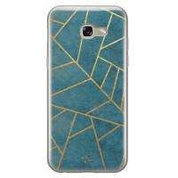 Telefoonhoesje Store Samsung Galaxy A5 2017 siliconen hoesje - Abstract blauw