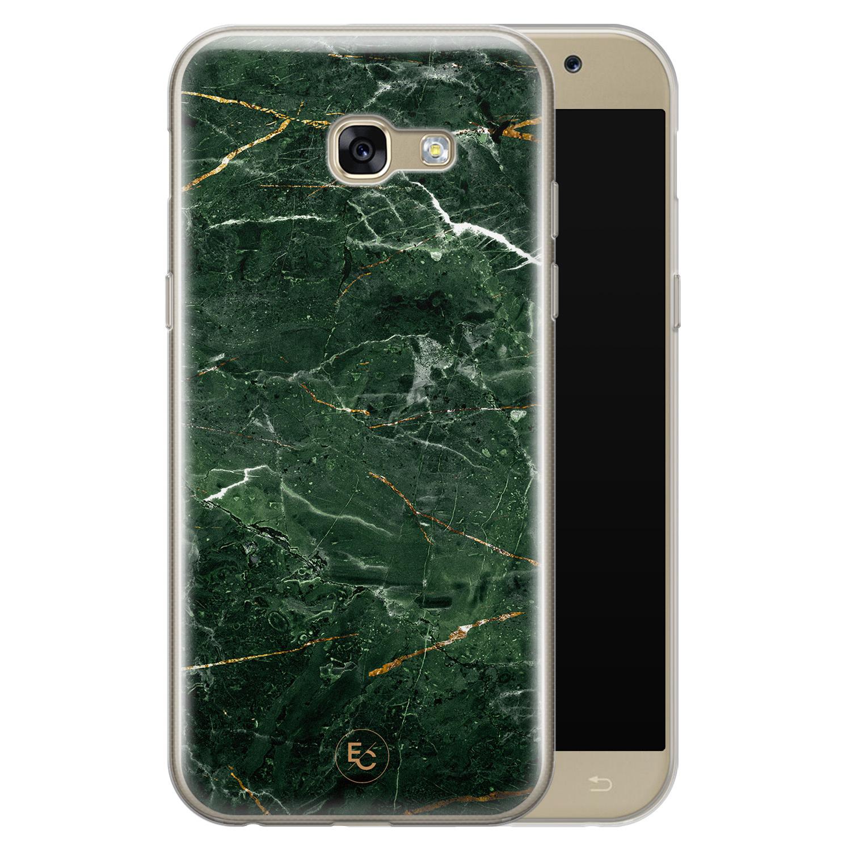 ELLECHIQ Samsung Galaxy A5 2017 siliconen hoesje - Marble jade green