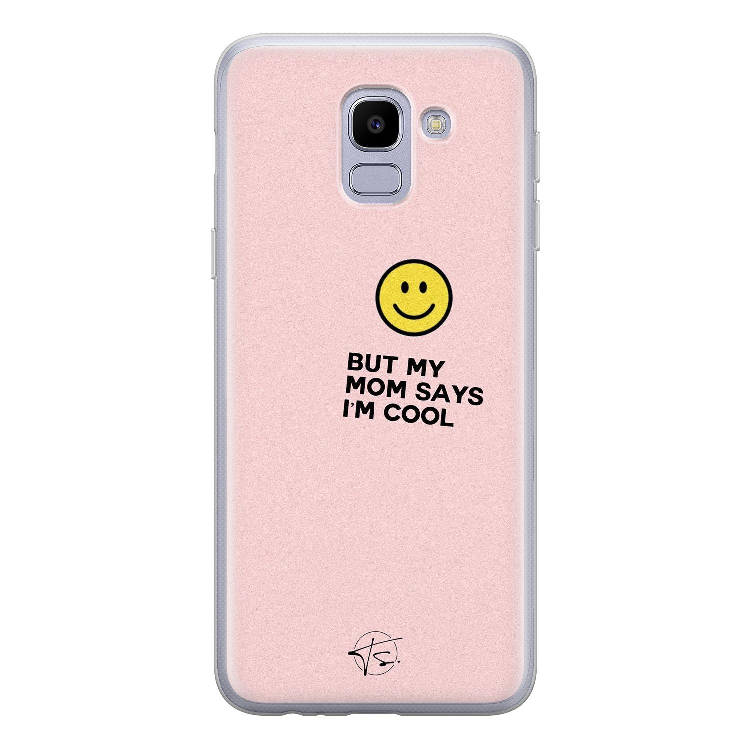 Telefoonhoesje Store Samsung Galaxy J6 2018 siliconen hoesje - I'm cool